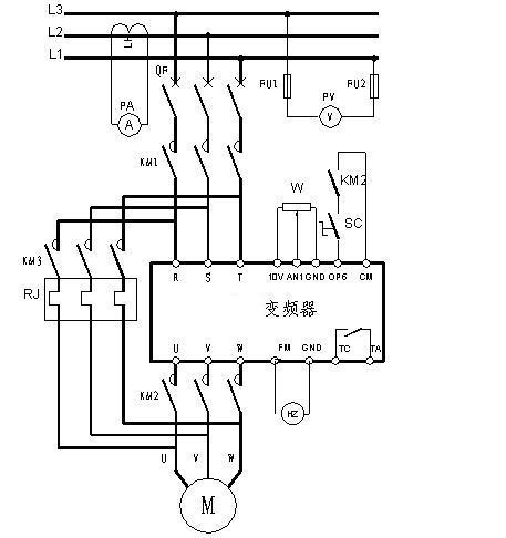 变频器典型电路(二)